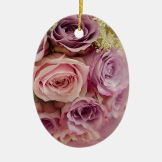 Roses Christmas Ornament
