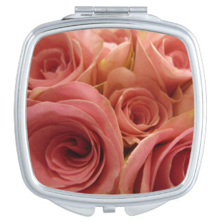 Roses Compact Mirror