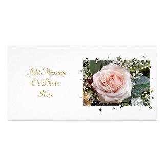 ROSES CUSTOMISED PHOTO CARD