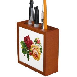 Roses Desk Organiser