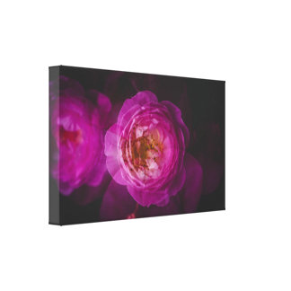 Roses (double exposure version) canvas print