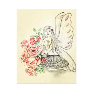 Roses Fairy canvas