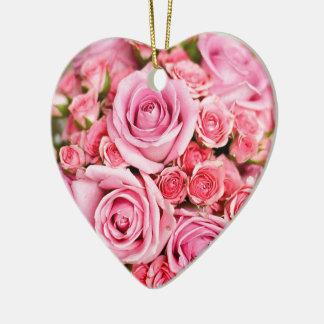 Roses For Mom! Ceramic Heart Decoration
