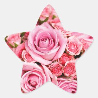 Roses For Mom! Star Sticker