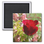 Roses for Mother/ Happy Mother's Day Fridge Magnets