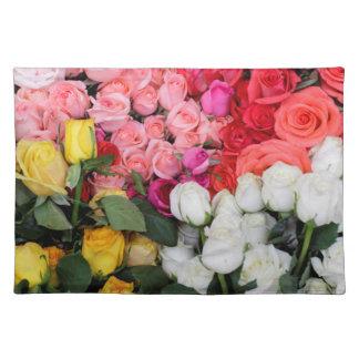 Roses for sale, San Miguel de Allende, Mexico Placemat