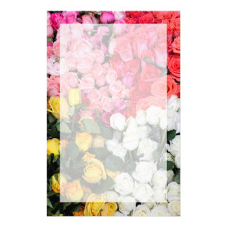 Roses for sale, San Miguel de Allende, Mexico Stationery