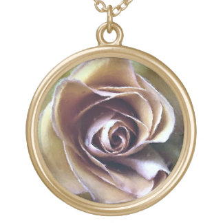 ROSES GOLD PLATED NECKLACE