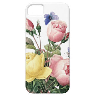 Roses illustrated by Redoute iPhone 5 Case