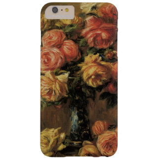 Roses in a Vase by Pierre Renoir, Vintage Fine Art Barely There iPhone 6 Plus Case