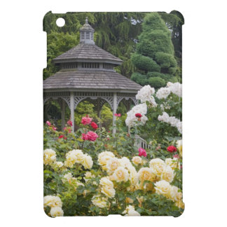 Roses in bloom and Gazebo Rose Garden at the Case For The iPad Mini