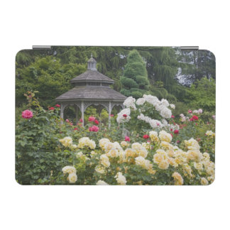 Roses in bloom and Gazebo Rose Garden at the iPad Mini Cover