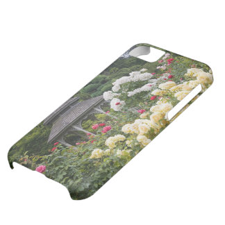 Roses in bloom and Gazebo Rose Garden at the iPhone 5C Case