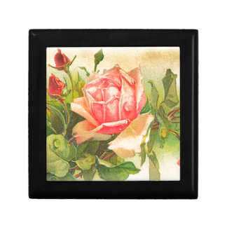 Roses in Bloom Small Square Gift Box