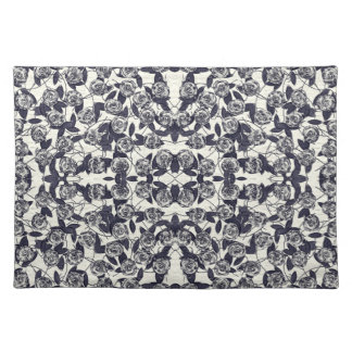 Roses in Bluem Placemat