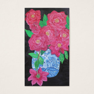 Roses in Chinese Vase