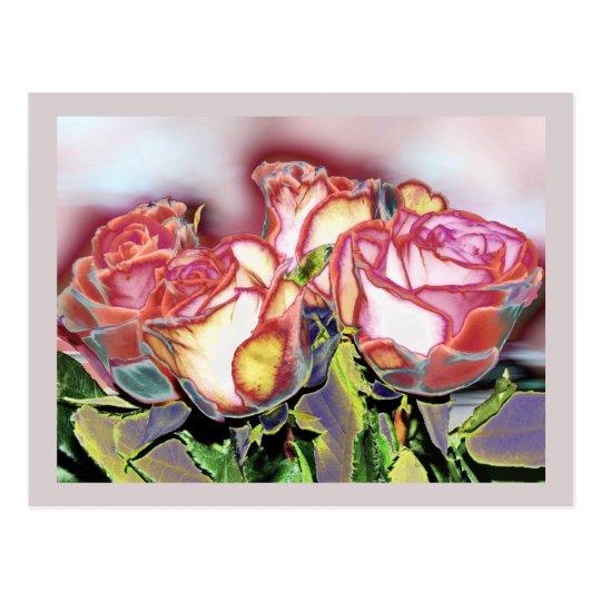 Roses In December, postcard