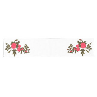 Roses in Pink Short Table Runner