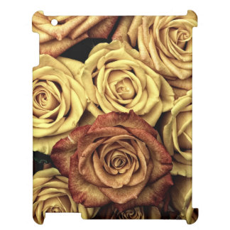 Roses in Sepia Tone iPad Covers