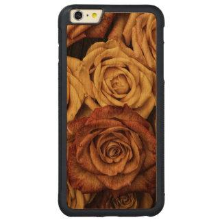 Roses in Sepia Tone Carved® Cherry iPhone 6 Plus Bumper