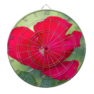 roses in the garden dartboard