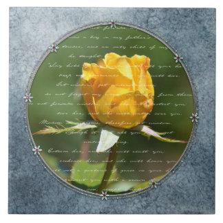 Roses In the Garden Tile