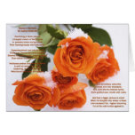 Roses in the Snow Christmas Card