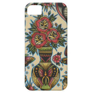 roses in vase iPhone 5 case