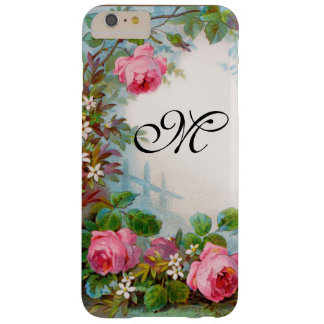 ROSES & JASMINES MONOGRAM BARELY THERE iPhone 6 PLUS CASE