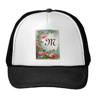 ROSES & JASMINES MONOGRAM CAP