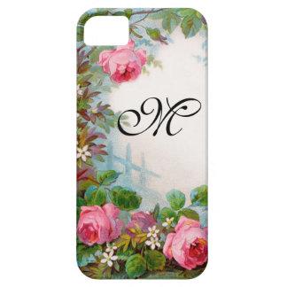 ROSES & JASMINES MONOGRAM iPhone 5 CASE