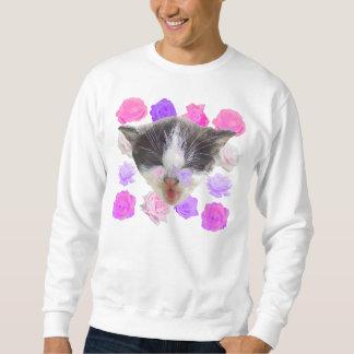 roses+kit sweatshirt