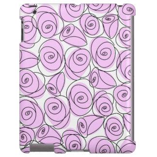 Roses Lilac iPad case
