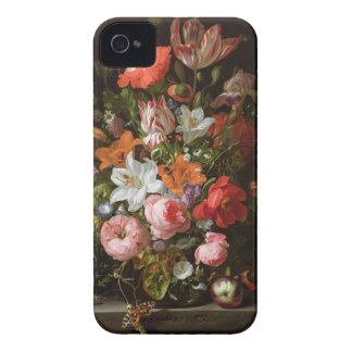 Roses, Lilies, and Tulips iPhone4 Case