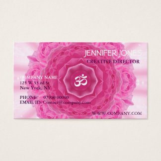 Roses Mandala, Business Card