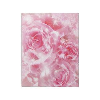 Roses Notepad