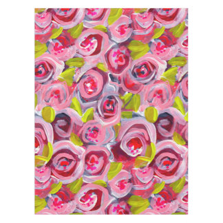 Roses on Roses on Roses Tablecloth