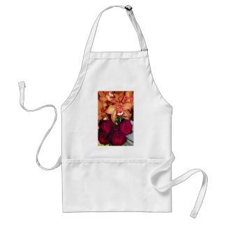 Roses & Orchids_ Adult Apron