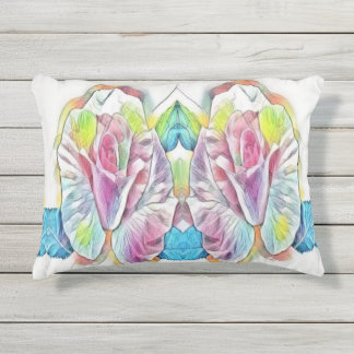 roses outdoor cushion