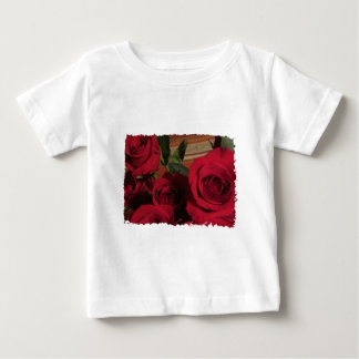 Roses photo floral flowers nature gardens baby T-Shirt