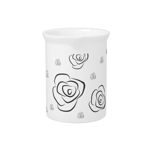 Roses Pitcher