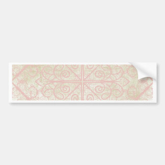 Roses Ribbons and Lace Bumper Sticker