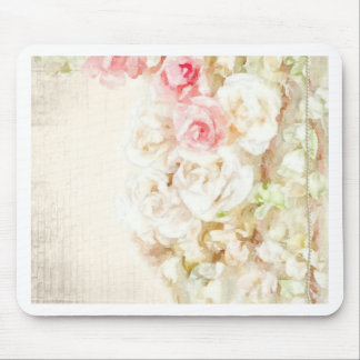 Roses Ribbons and Lace Mouse Pad
