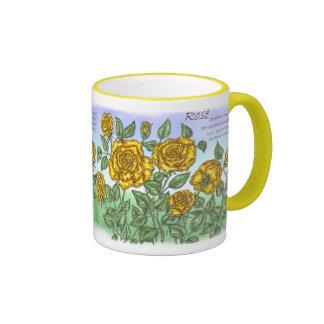 Roses Ringer Mug