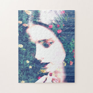 Roses Romantic Mood Girl Beauty Floral Summer Jigsaw Puzzle
