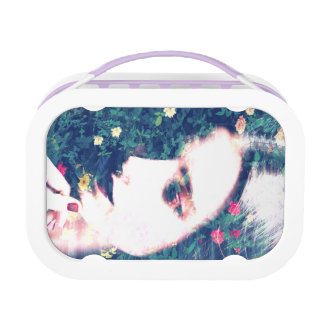 Roses Romantic Mood Girl Beauty Floral Summer Lunch Box