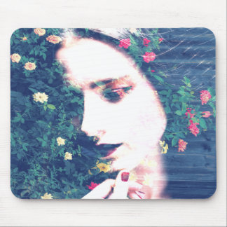 Roses Romantic Mood Girl Beauty Floral Summer Mouse Mat