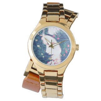 Roses Romantic Mood Girl Beauty Floral Summer Wrist Watches