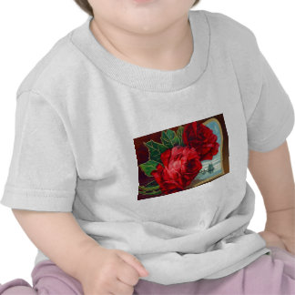 Roses Sailboats Ocean Vintage Father s Day Tee Shirt