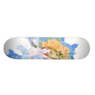 Roses Skateboard Deck